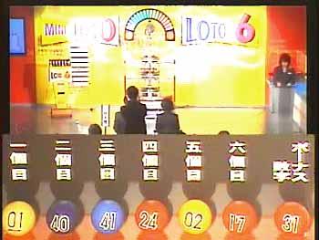 第315回(2006年11月2日)ロト6抽選結果・出目/(C)宝くじドリームステーション