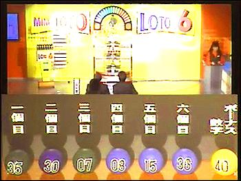 第317回(2006年11月16日)ロト6抽選結果・出目/(C)宝くじドリームステーション
