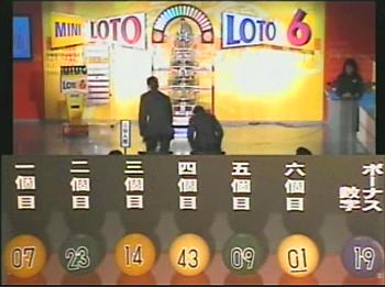 第326回(2007年01月18日)ロト6抽選結果・出目/(C)宝くじドリームステーション