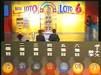 第329回(2007年02月08日)ロト6抽選結果・出目/(C)宝くじドリームステーション