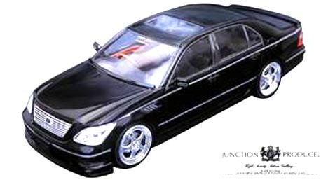 ホットワークス 【ミニカー】 1/24 オートプロショップ トヨタ セルシオ 30 後期 ジャンクショ...