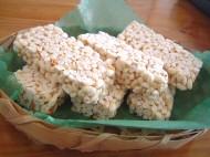 お米のどんで作ったお菓子