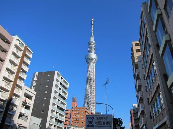 東京スカイツリー7〔フリー写真〕