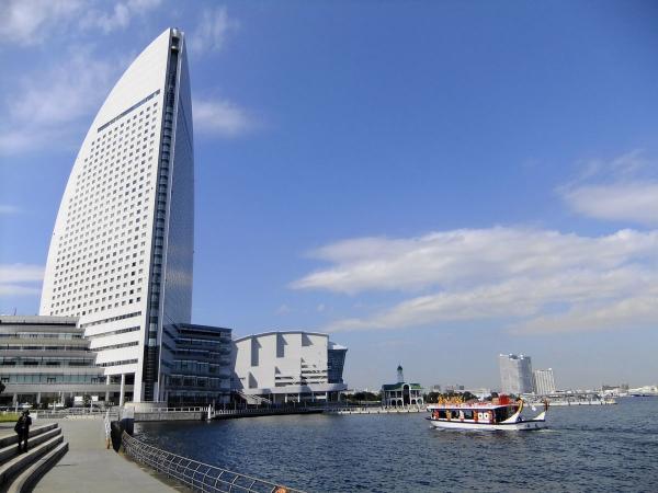横浜インターコンチネンタルホテル1〔フリー写真〕