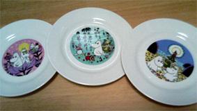 ムーミン絵皿