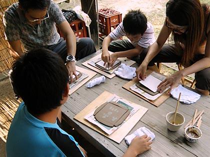 2011親子で陶芸体験2
