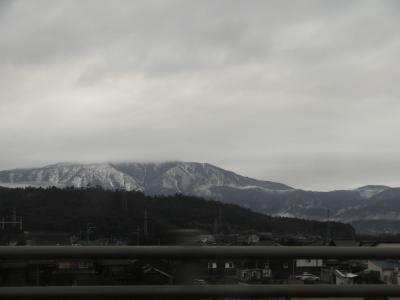山は白いな~
