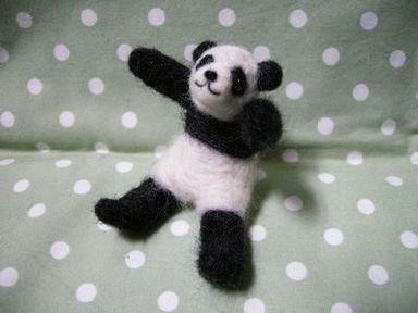 パンダお座りverh