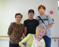 敬老の日のおばあちゃん