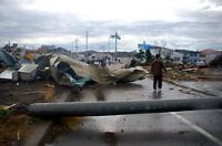 北海道 佐呂間町 竜巻被害