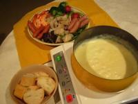 我が家で初めてやる チーズフォンドゥ
