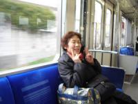 西武新宿線の電車の中です