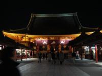浅草寺でお参りもしました