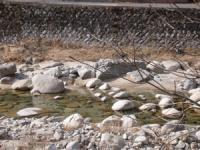 ゆっくり散策したくなる きれいな川