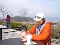 富士山を見ながらなんて 最高