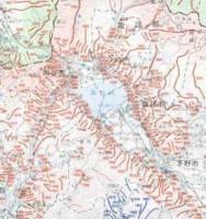土石流危険渓流図 諏訪盆地