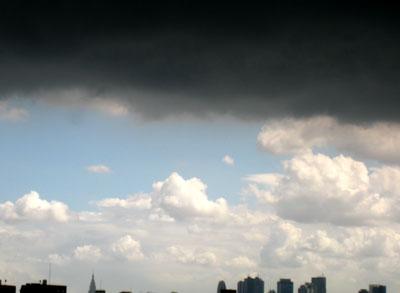 真っ黒雲!!