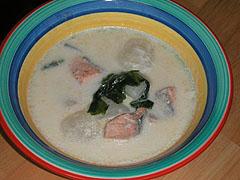 鮭とかぶの簡単シチュー