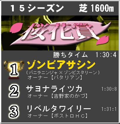 桜花賞15