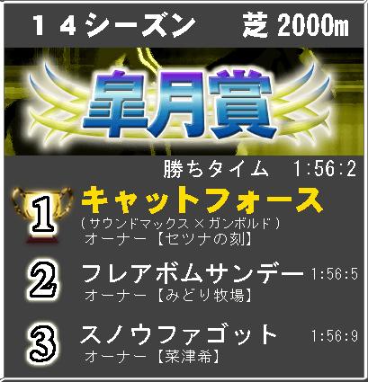 皐月賞14