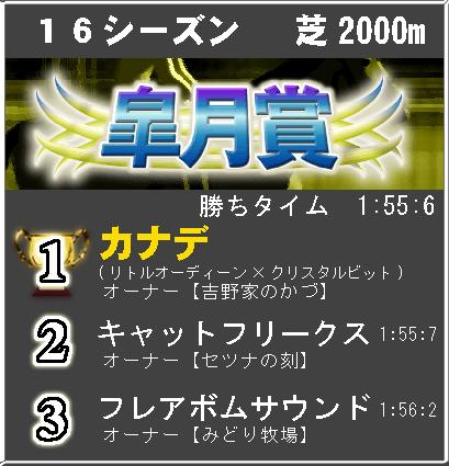 皐月賞16