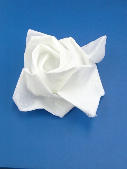 簡単 折り紙 紙ナプキン 折り紙 : smilerose.blog93.fc2.com