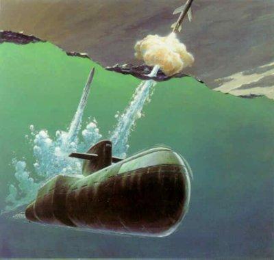 潜水艦から