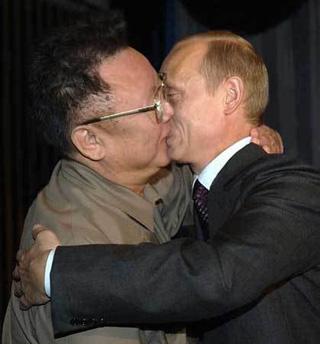キムとプーチン