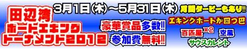 田辺湾エギングトーナメント2012