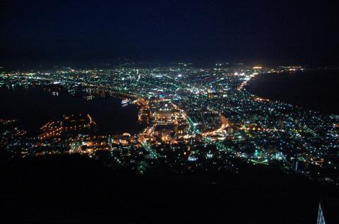 函館山からね