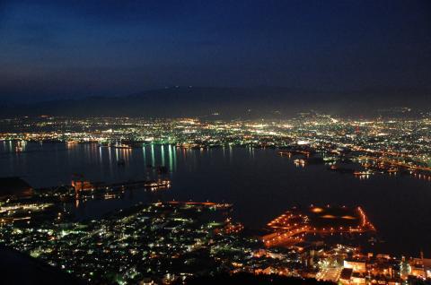 函館山から2