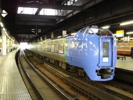 反対側の電車