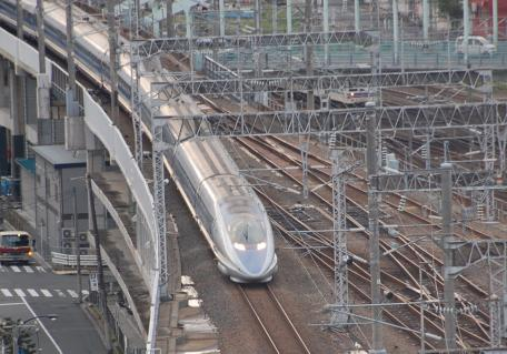 新幹線鉄のはたまらんロケーションだ