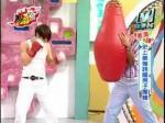 ボクシング披露。