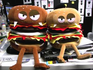 ハンバーガーたち