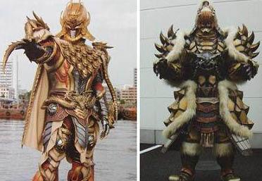ドラゴン拳ロン&バジリスク拳サンヨ