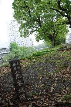 熊本城跡地。