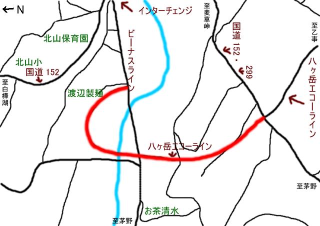八ヶ岳 エコー ライン