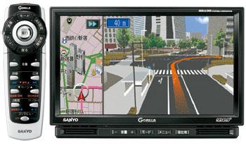 最新HDDナビ(サンヨーNV-HD830DT)