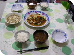 16日の夕食・・・・