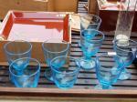 青い氷コップ