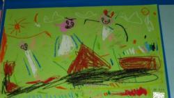 作品展2006芋ほり