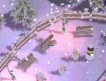 雪の街はきれいだねー