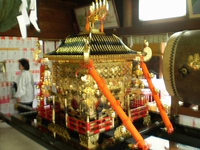 讃岐一宮 田村神社 神輿