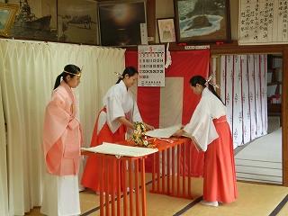 讃岐一宮 田村神社 春季例大祭受付