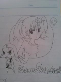 夏美とギロロ