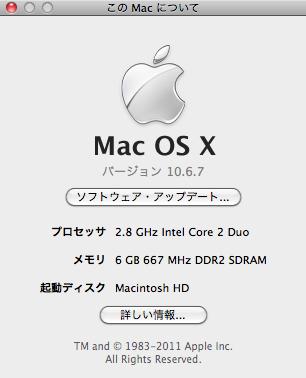 mac info