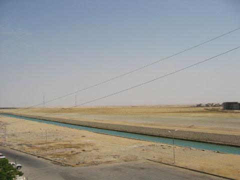 water in suez
