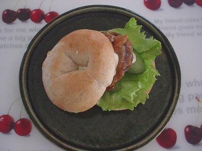 チキン*ライ麦サンド