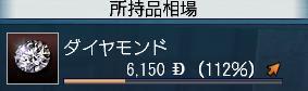 ダイヤモンド112%